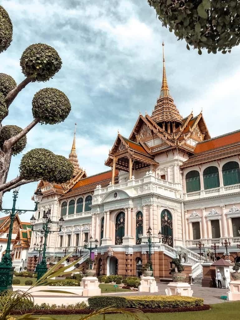 Bangkok travel itinerary