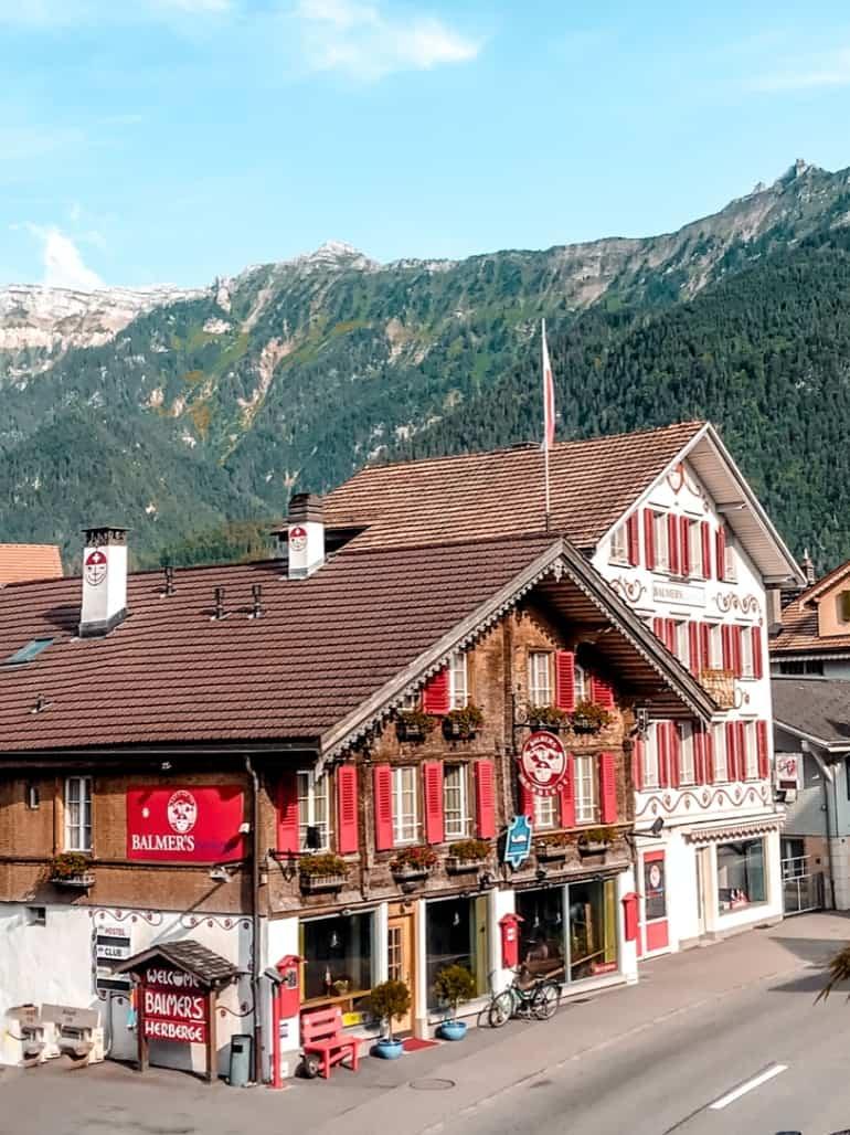 Interlaken itinerary