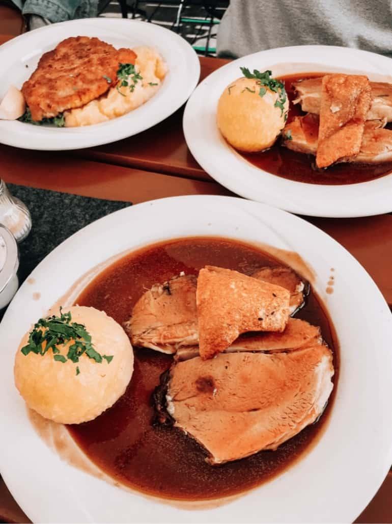 Bavarian restaurants Munich