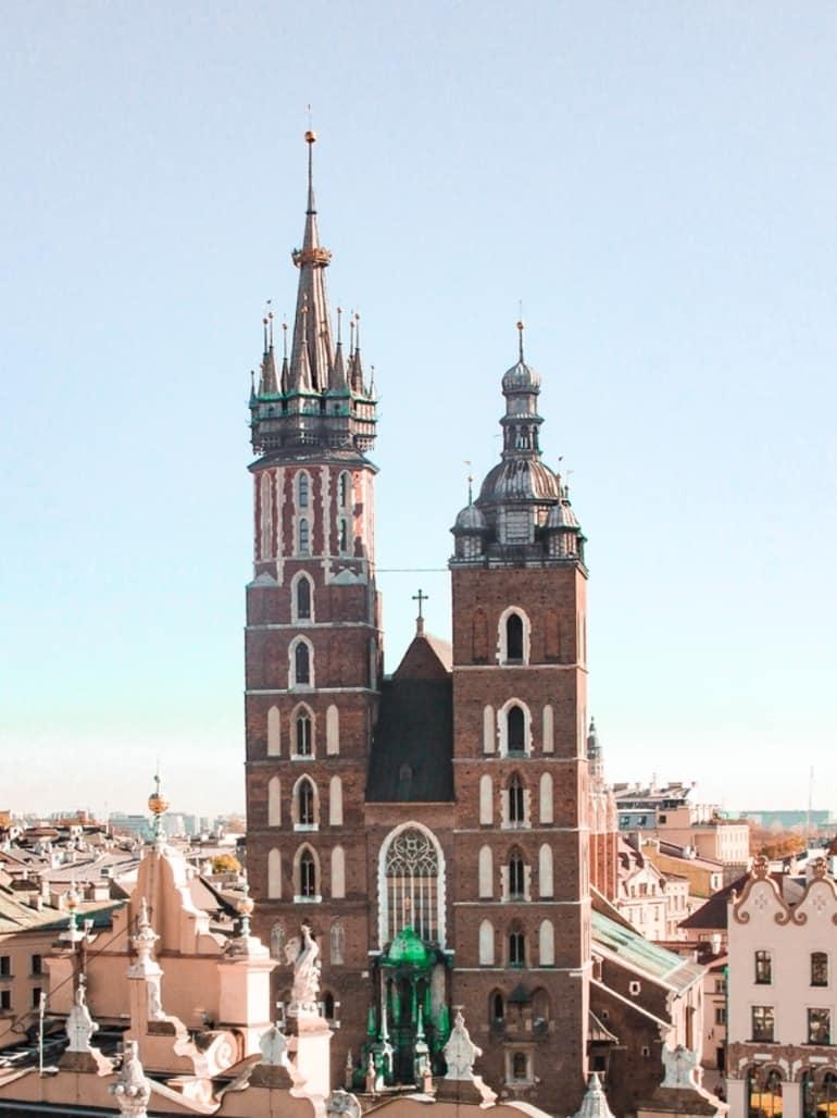 Kraków Poland itinerary
