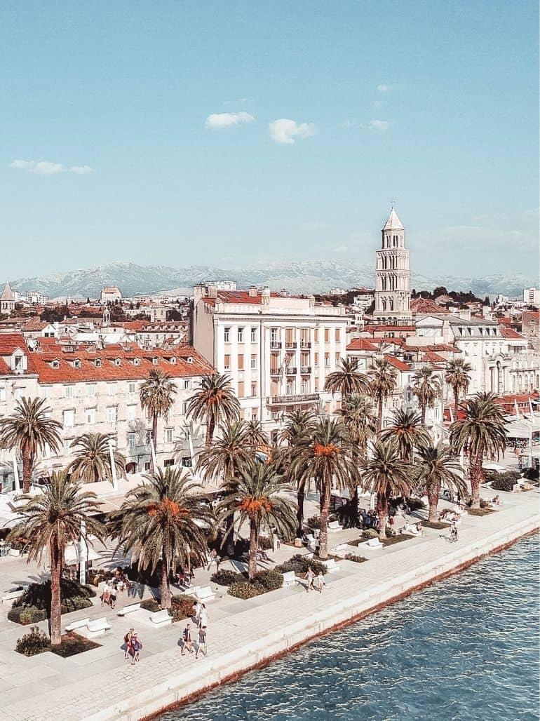Split Croatia itinerary