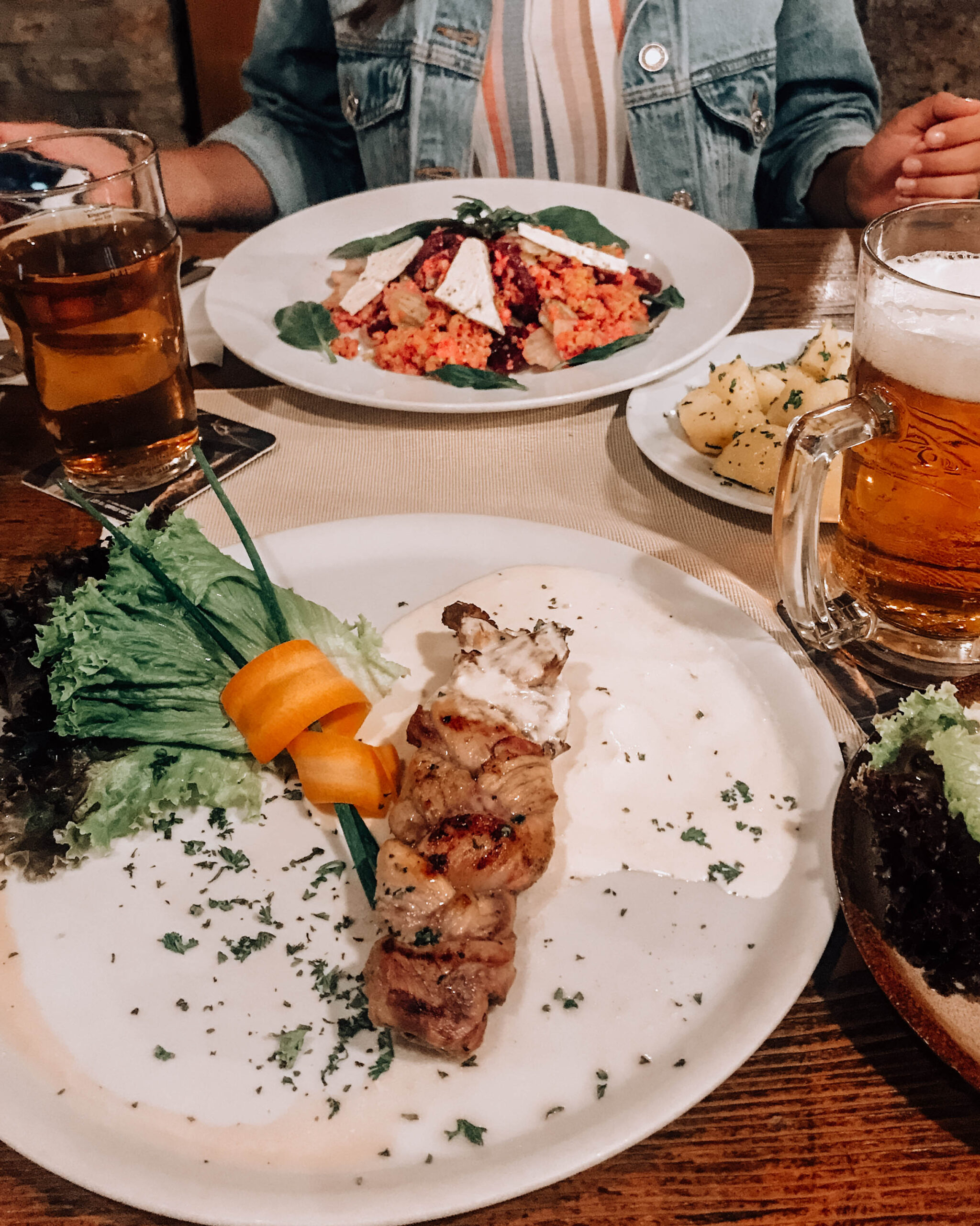 food to try Prague